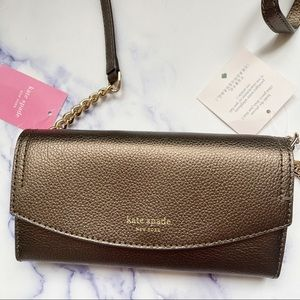 Kate Spade ♠️ Convertible Chain Wallet/Crossbody
